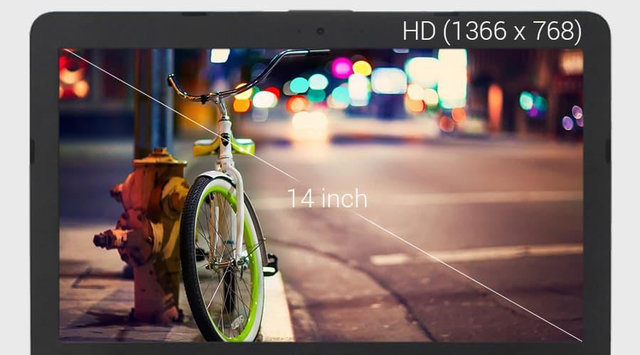 Màn hình 14inch HD