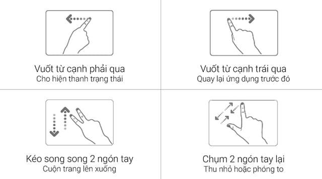 Touch Pad đa chức năng