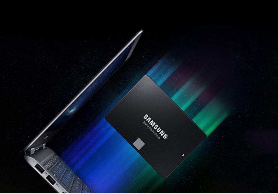 Tốc độ đọc ghi cực nhanh Samsung SSD