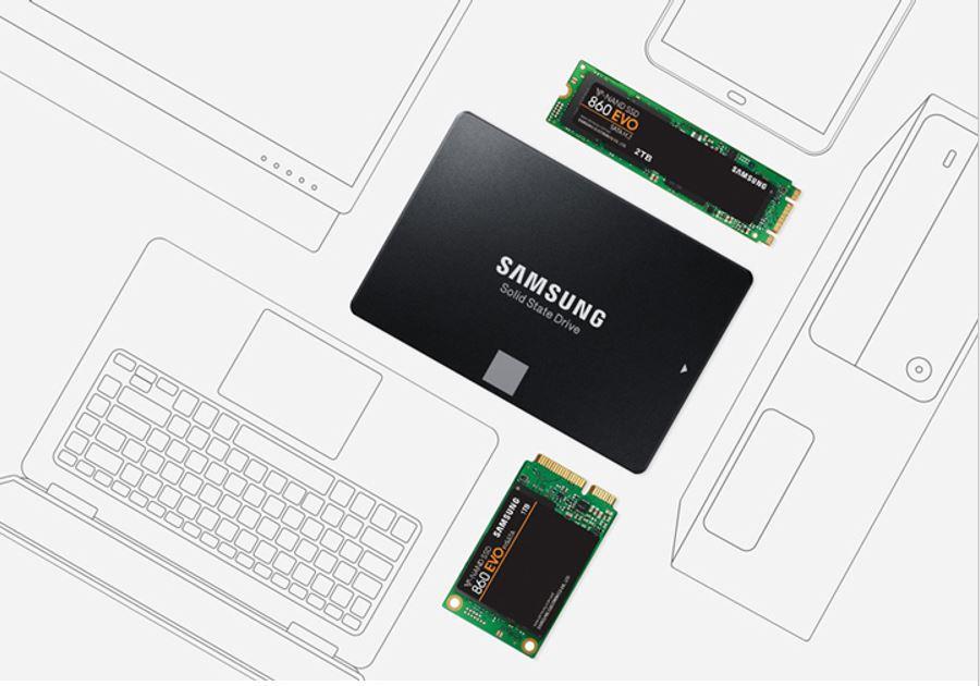 Thiết kế ổ đĩa tiên tiến Samsung